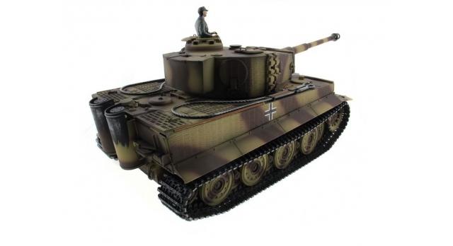 P/У танк Taigen 1/16 Tiger 1 (Германия, поздняя версия) HC, 2.4G RTR 12