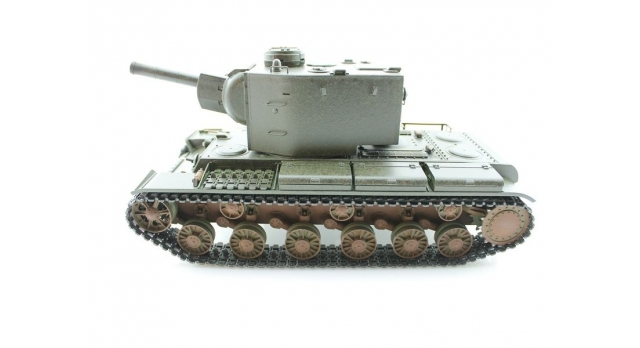 P/У танк Torro КВ-2 1/16  2.4G, СССР, зеленый, ИК-пушка, деревянная коробка 1