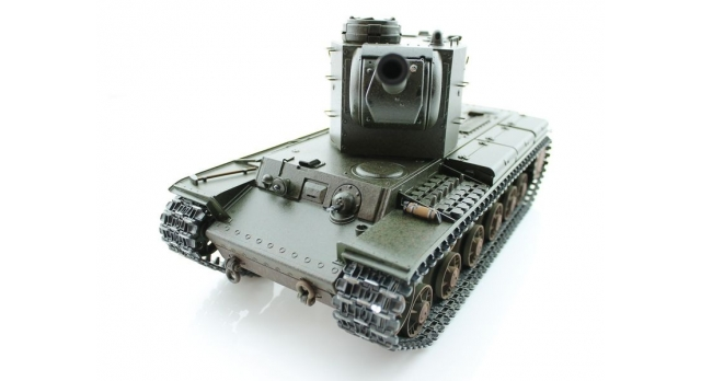 P/У танк Torro КВ-2 1/16  2.4G, СССР, зеленый, ИК-пушка, деревянная коробка 3