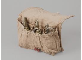Подсумок для гранат Ф-1 / Оригинал ткань для 3-х гранат светлый [сн-239]