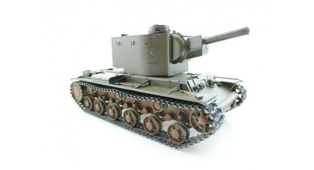 P/У танк Torro КВ-2 1/16  2.4G, СССР, зеленый, ИК-пушка, деревянная коробка 4