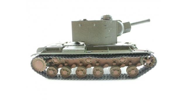 P/У танк Torro КВ-2 1/16  2.4G, СССР, зеленый, ИК-пушка, деревянная коробка 5