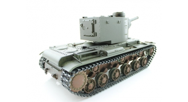 P/У танк Torro КВ-2 1/16  2.4G, СССР, зеленый, ИК-пушка, деревянная коробка 6