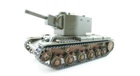 P/У танк Torro КВ-2 1/16  2.4G, СССР, зеленый, ИК-пушка, деревянная коробка 10