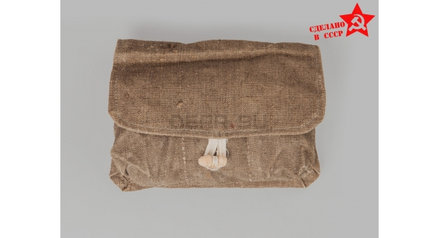 Подсумок для гранат Ф-1 / Оригинал ткань для 3-х гранат тёмный [сн-240]