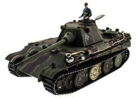 Р/У танк Taigen 1/16 Panther type F (Германия) HC версия, башня на 360, подшипники в ред., 2.4G RTR
