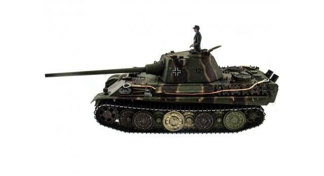 Р/У танк Taigen 1/16 Panther type F (Германия) HC версия, башня на 360, подшипники в ред., 2.4G RTR 2