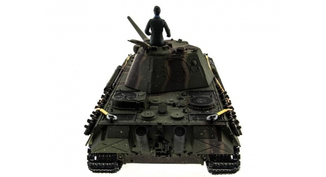 Р/У танк Taigen 1/16 Panther type F (Германия) HC версия, башня на 360, подшипники в ред., 2.4G RTR 4