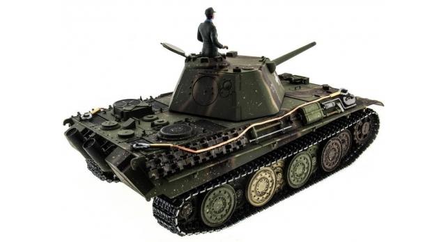 Р/У танк Taigen 1/16 Panther type F (Германия) HC версия, башня на 360, подшипники в ред., 2.4G RTR 5