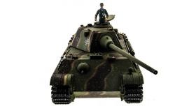 Р/У танк Taigen 1/16 Panther type F (Германия) HC версия, башня на 360, подшипники в ред., 2.4G RTR 8
