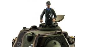Р/У танк Taigen 1/16 Panther type F (Германия) HC версия, башня на 360, подшипники в ред., 2.4G RTR 9