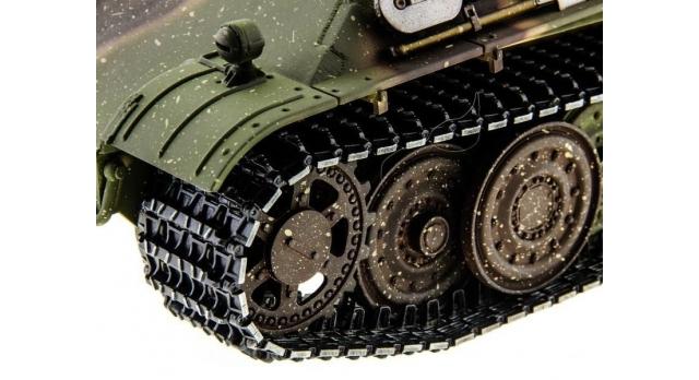 Р/У танк Taigen 1/16 Panther type F (Германия) HC версия, башня на 360, подшипники в ред., 2.4G RTR 11