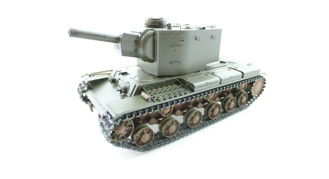 P/У танк Torro КВ-2 1/16  2.4G, СССР, зеленый, ВВ-пушка, деревянная коробка 2