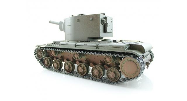 P/У танк Torro КВ-2 1/16  2.4G, СССР, зеленый, ВВ-пушка, деревянная коробка 8
