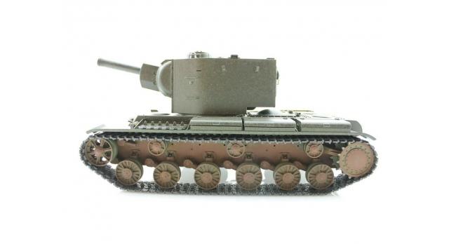 P/У танк Torro КВ-2 1/16  2.4G, СССР, зеленый, ВВ-пушка, деревянная коробка 9