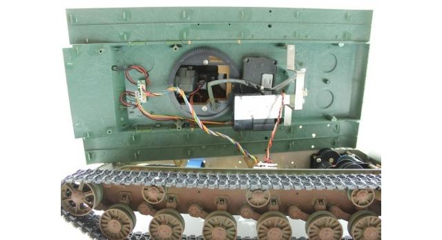 P/У танк Torro КВ-2 1/16  2.4G, СССР, зеленый, ВВ-пушка, деревянная коробка 12