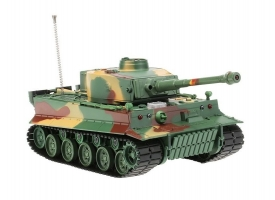 Р/У танк Heng Long 1/26 Tiger I ИК-версия, пульт MHz, RTR