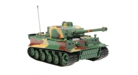 Р/У танк Heng Long 1/26 Tiger I ИК-версия, пульт MHz, RTR 1
