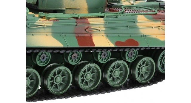 Р/У танк Heng Long 1/26 Tiger I ИК-версия, пульт MHz, RTR 7
