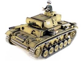 Р/У танк Taigen 1/16 Panzerkampfwagen III (Германия) HC 2.4G RTR