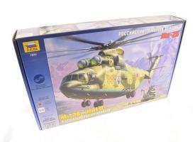 Сборная модель ZVEZDA Российский тяжелый вертолет Ми-26, 1/72