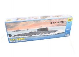 Сборная модель ZVEZDA Российский атомный подводный ракетный крейсер К-141 «Курск», 1/350