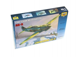 Сборная модель. Самолет Ла-5. 1/48. 1