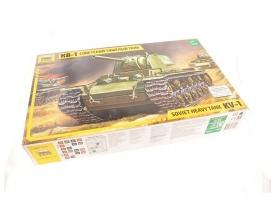 Сборная модель ZVEZDA Советский тяжелый танк КВ-1, 1/35