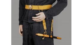 Парадный офицерский кортик ВМФ СССР образца 1945 года / Оригинал Булат 1983г [хо-111]