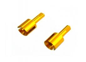 Алюминиевые чашки приводов (от дифф-ла, пара)  для тюнинга E18