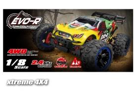 Радиоуправляемая трагги Remo Hobby EVO-R TWINS MOTOR 4WD 2.4G 1/8 RTR 1
