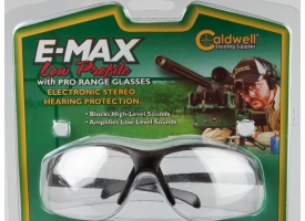 Активные наушники и защитные стрелковые очки / Caldwell E-Max Low Profile [мт-648]