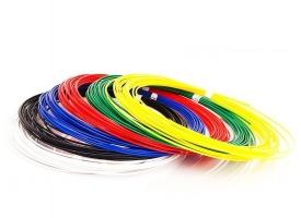 ABS пластик для 3D ручек (6 цветов по 10 метров, d1.75 мм)