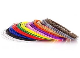 ABS пластик для 3D ручек (12 цветов по 10 метров, d1.75 мм)