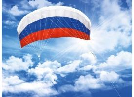 Воздушный змей управляемый парашют «Россия 140»