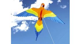 Воздушный змей «Попугай Клара 154х122» 3