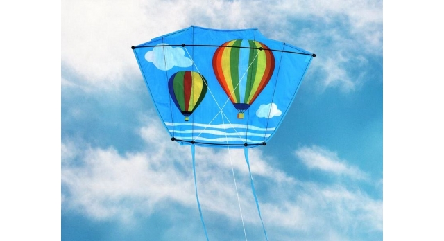 Воздушный змей «Воздушные шары 65х44» 3