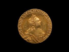 5122 Два рубля 1756 г. Елизавета