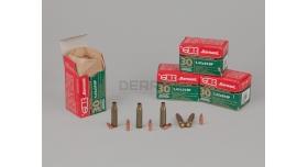 Комплект 5.45х39-мм / Новый полуоболоченная пуля и лакированная стальная гильза Барнаул [мт-649]