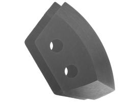 Ножи для ледобура полукруглые универсальные, d130 мм ПВ (набор 2 шт.) нерж.