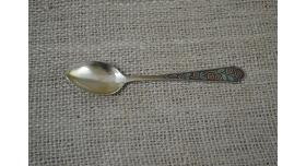 Серебряная ложка/Ложка чайная 875 пробы, 14.5 см, 22 гр [фр-104]