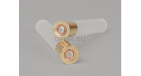 Гильзы с капсюлем 410 калибра / Новые высота основания 15 мм общая высота 75 мм [гил-68]