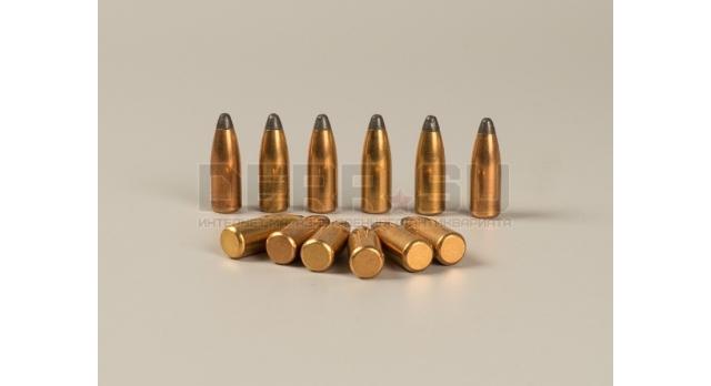 Пули 7.62х54-мм для Мосина, СВД, СВТ/АВТ, СКС / Новые полуоболоченные остроконечные [пул-45]