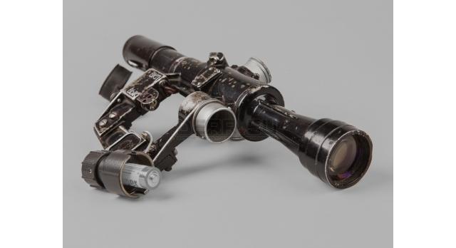 Оптический прицел ПСО-1 / Оригинал N08734 с адаптером под АА батарею 1967 год [по-56]