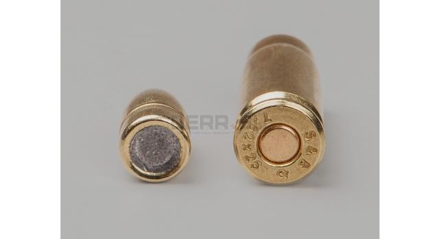 Комплект 7.62х25-мм пуля с капсюлированной гильзой /Новый капсюль боксер оболоченная пуля с латунной гильзой[мт-660]