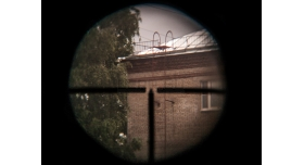 Оптический прицел ПУ Красногорского завода / Оригинал 1943 год №61488 с кронштейном Кочетова [по-21-1]