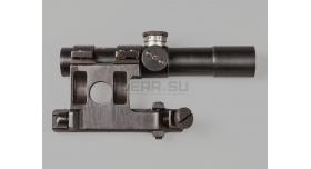 Оптический прицел ПУ для СВТ / Оригинал 1944 года № 02647 с кронштейном Кочетова [по-54-1]