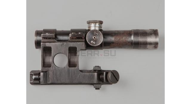 Оптический прицел ПУ для СВТ / Оригинал 1944 года № 06427 с кронштейном Кочетова [по-15-1]