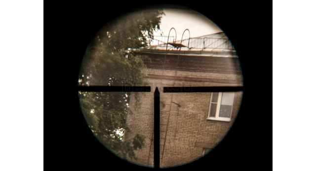 Оптический прицел ПУ 3.5х22 / Оригинал 1943 года №32499 с кронштейном Кочетова [по-49-1]