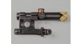 Оптический прицел ПУ 3.5х22 / Оригинал 1943 года №26892 с кронштейном Кочетова [по-52-1]
